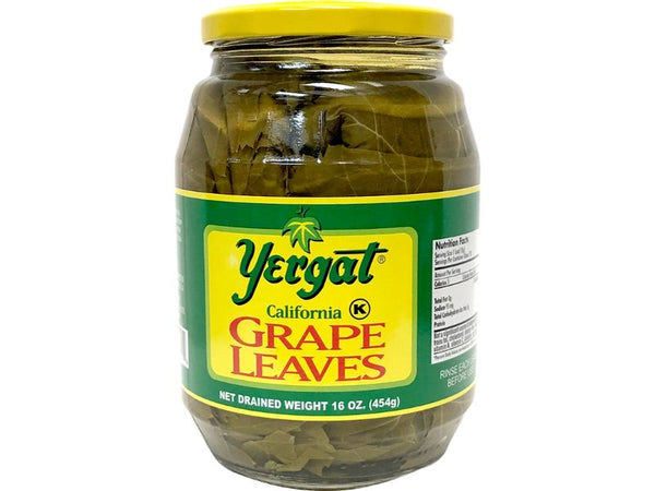 Yergat Grape Leaves, 16oz - Papaya Express
