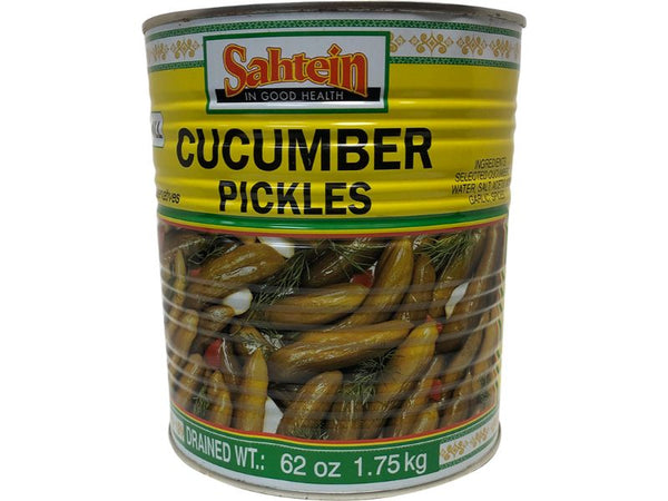 Sahtein Cucumber Pickles, 62oz - Papaya Express
