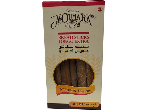 Al Oumara Bread Sticks, 400g - Papaya Express