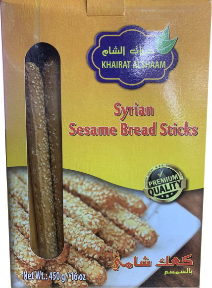 Khairat AlSham Bread Sticks Extra Long - 450g - Papaya Express