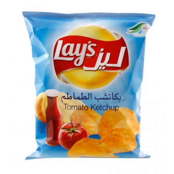 Lays Potato Chips - Tomato Ketchup 50g - Papaya Express
