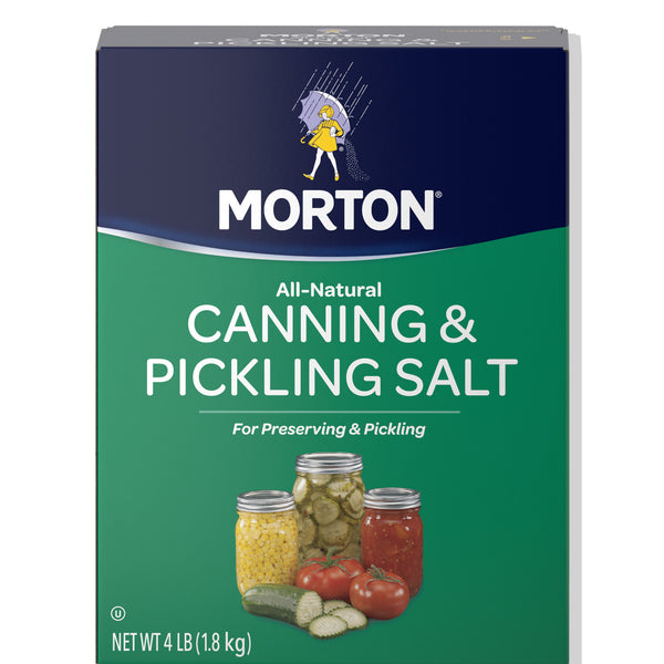 Morton Canning & Pickling Salt - 4lb - Papaya Express