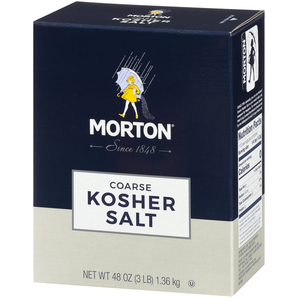 Morton Kosher Salt - 3lb - Papaya Express