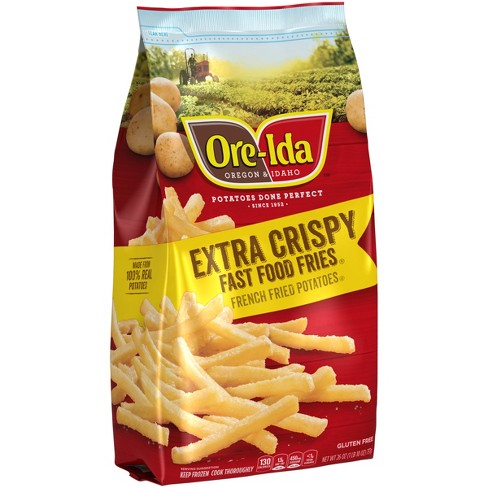Ore-Ida Extra Crispy Frozen Fast Food Fries - 26oz - Papaya Express
