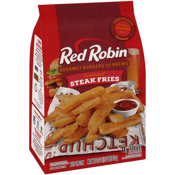 Red Robin Seasoned Steak Fries - 22oz - Papaya Express