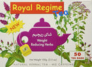 Royal Regime Weight Loss Diet Slimming - 50 Tea Bags - Papaya Express