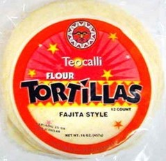 Teocalli Flour Tortillas - 12 ct - Papaya Express