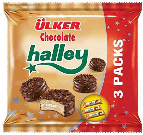 Ulker Halley Mini Choco Sandwich Cookies - 3 pack - Papaya Express
