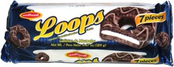 Wellmade Chocolate Loops - 7Ct