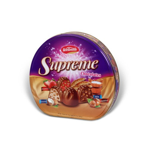 Wellmade Supreme Chocolate Tin - 600g - Papaya Express