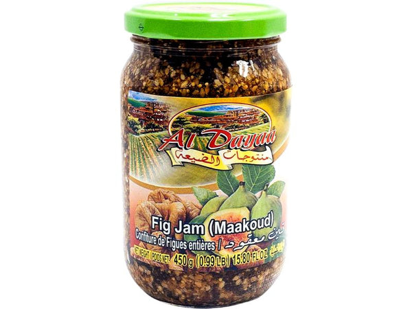 Al Dayaa Fig Jam, 450g - Papaya Express