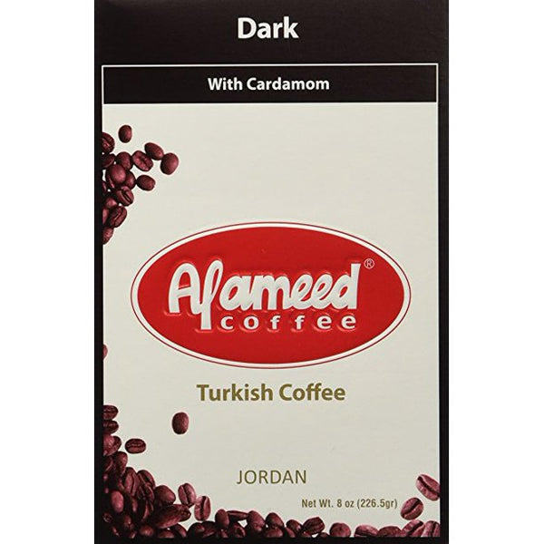 Alameed Gourmet Blend Turkish Coffee 8oz - Papaya Express