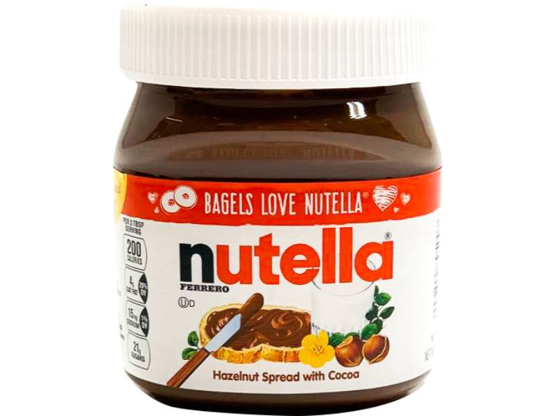 Nutella Hazelnut Spread With Cocoa - Papaya Express