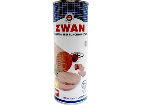 Zwan Chicken And Beef Lunch Loaf, 1lb - Papaya Express