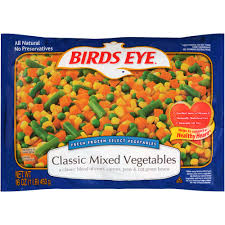 Birds Eye Mixed Vegetables 16oz - Papaya Express