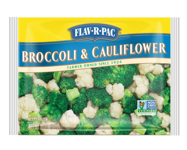 Flav-R-Pac Broccoli & Cauliflower 400g * - Papaya Express
