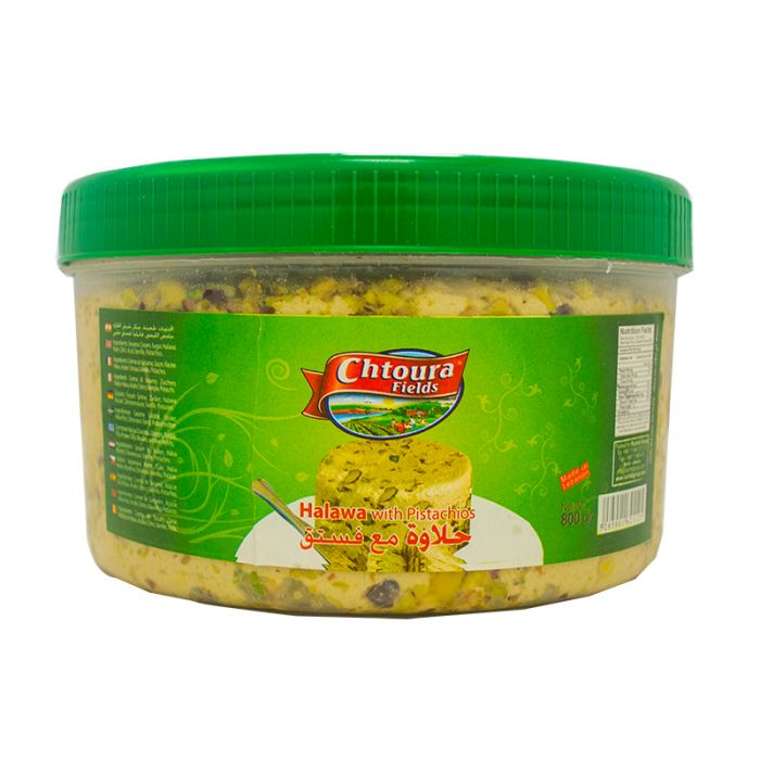 Chtoura Fields Halawa With Pistachio - 400g - Papaya Express