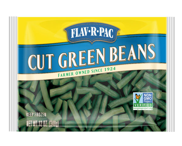 Flav-R-Pac Cut Green Beans 400g * - Papaya Express