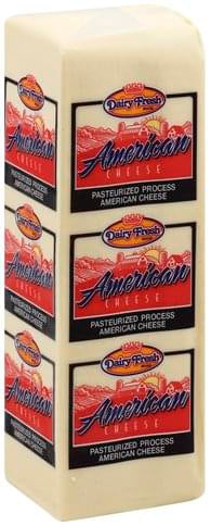 Dairy Fresh American Cheese Block, 5lb - Papaya Express