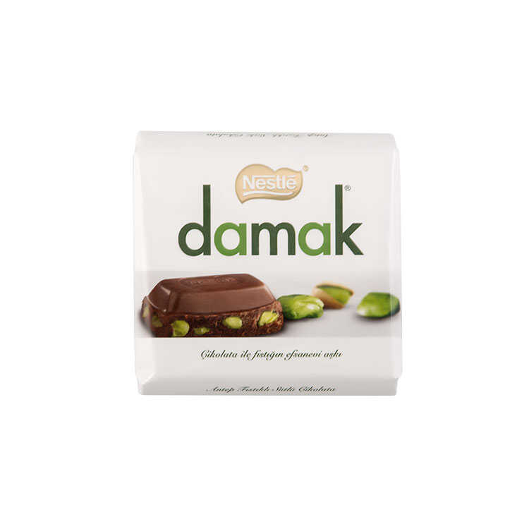 Nestle Damak Chocolate With Pistachio - 65g - Papaya Express