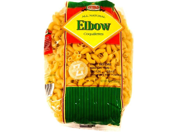 Ziyad Elbow Noodles, 16oz - Papaya Express