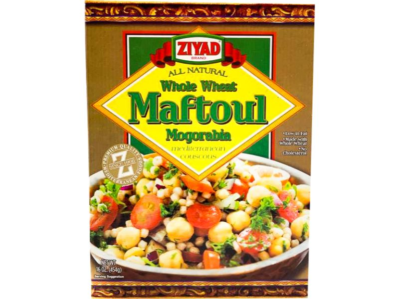 Ziyad Whole Wheat Maftoul Mogorbia, 16oz - Papaya Express