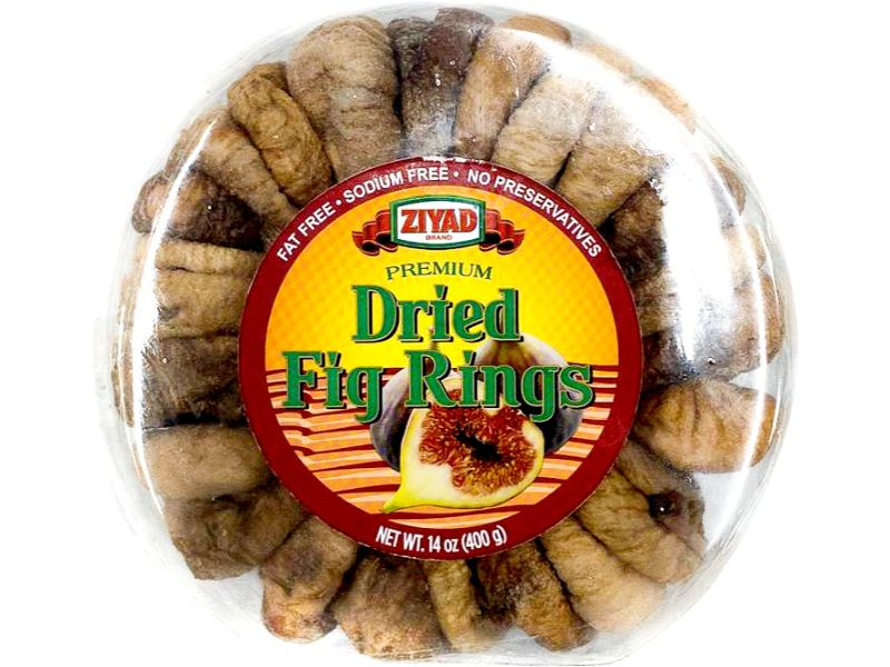 Ziyad Dried Fig Rings, 14oz - Papaya Express