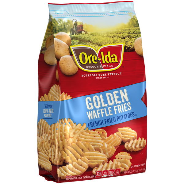 Ore Ida Golden Waffle Fries 22oz - Papaya Express