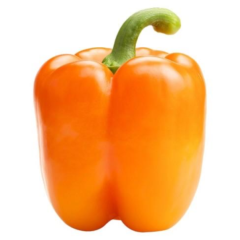 Orange Bell Pepper, Per Piece - Papaya Express