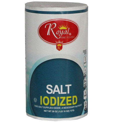 Royal Iodized Salt - 26oz - Papaya Express
