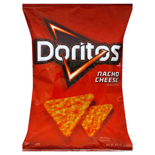 Doritos Nacho Cheese Flavor Chips - Papaya Express