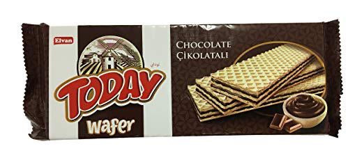 Elvan Today Wafer Chocolate, 130g - Papaya Express