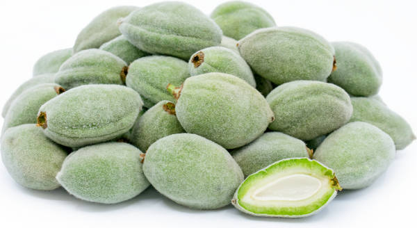 Green Almonds (Farek), Per 16oz - Papaya Express