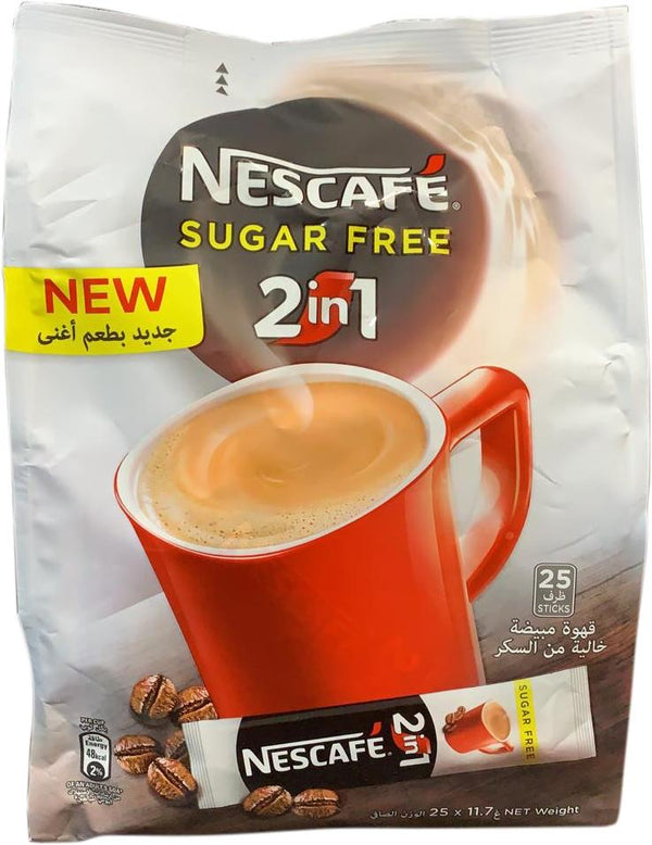 NESCAFÉ SUGAR FREE 2 in 1, 30 sticks - Papaya Express