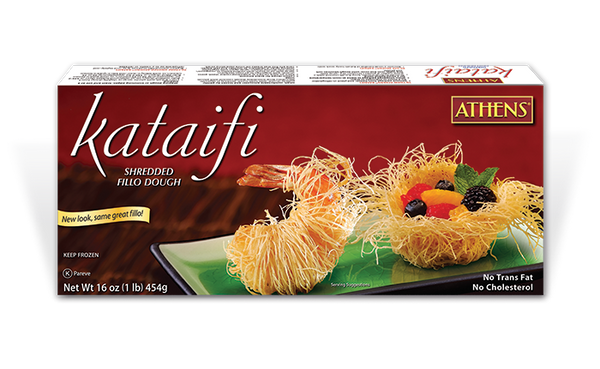 Athens Kataifi Shredded Fili Dough - Papaya Express