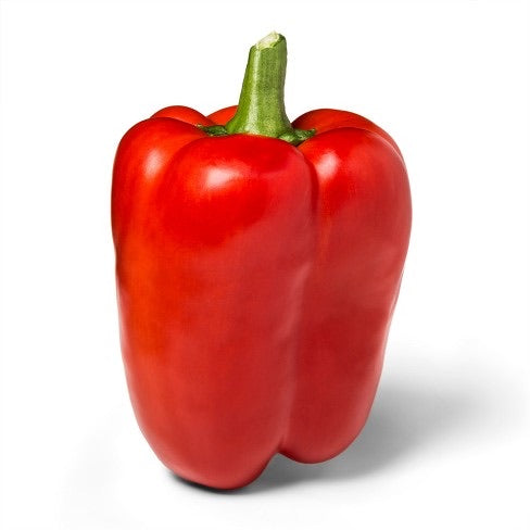 Red Bell Pepper, Per Piece - Papaya Express