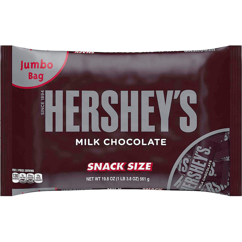 Hershey Chocolate Original Flavor Snack Size Bag - Papaya Express