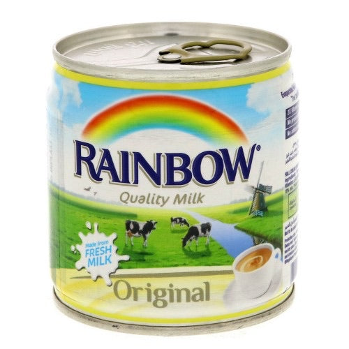 Rainbow Condensed Milk (170g) - Papaya Express