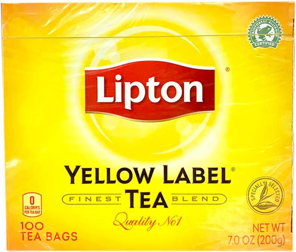 Lipton Yellow Label Tea Bags 100ct, 200g - Papaya Express