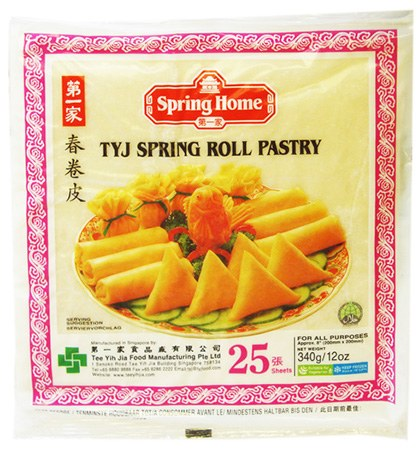 TYJ Spring Rolls 25ct * - Papaya Express