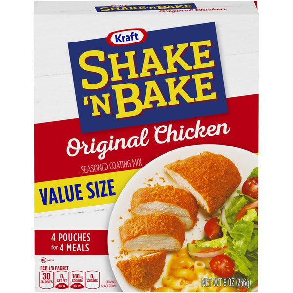 Shake N Bake Original Chicken - 4 Pouches - Papaya Express