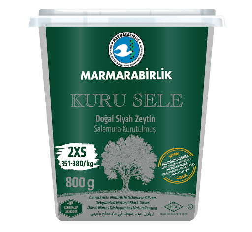 Marmarabirlik Dried Natural Black Olives - Papaya Express