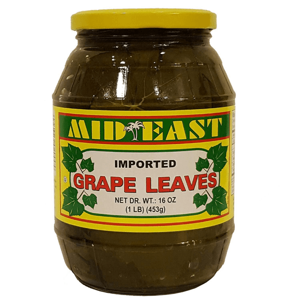 Mideast Grape Leaves, 16oz - Papaya Express