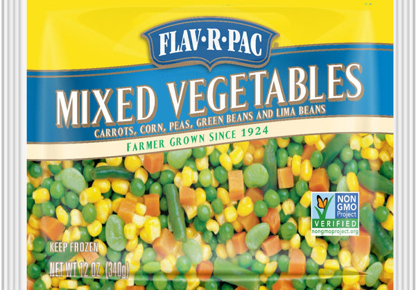 Flav-R-Pac Mixed Vegetables 400g * - Papaya Express