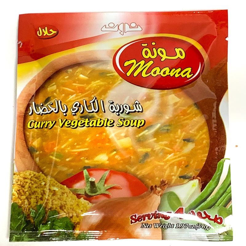 Moona Curry Vegetable Soup 2.5oz - Papaya Express