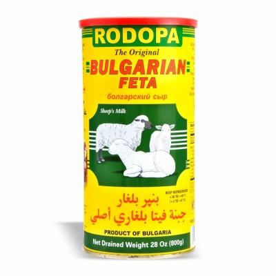 Rodopa Bulgarian White Cheese - 28oz - Papaya Express