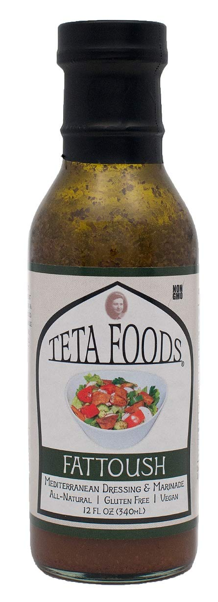 Teta Fattoush Salad Dressing - 12floz - Papaya Express