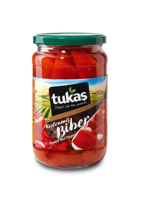 Tukas Roasted Red Peppers - 680g - Papaya Express