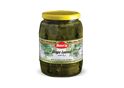 Sera Grape Leaves, 16oz - Papaya Express