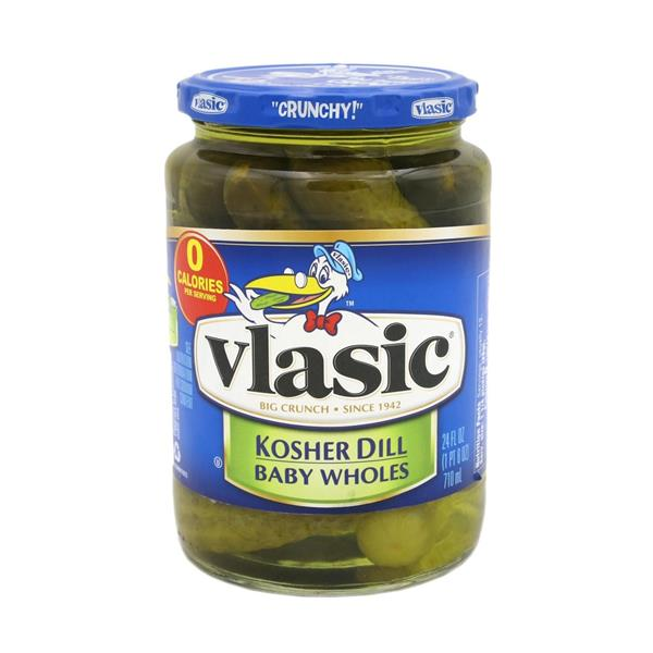 Vlasic Kosher Dill Baby Wholes - 24floz - Papaya Express